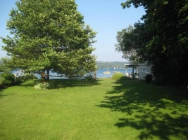 Yard is 400' deep with room for croquet, bocce, volleyball net, and parking for 5 cars