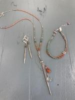 Jewelry set by Colorado artist Chipita Jewerly