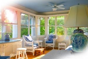 Silver Fox Suite  - Enclosed Veranda